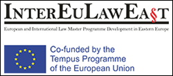 European and International Law Master Programme Development in Eastern Europe
